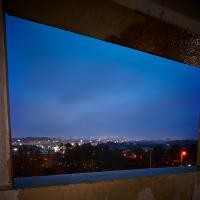 Parking Deck Frame City View 016 Copy by Steve Hendrix in Regular Member Gallery