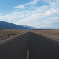 Road-to-badwater by Vincent Goetz in Vincent Goetz