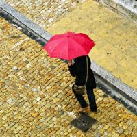Raining in Venice