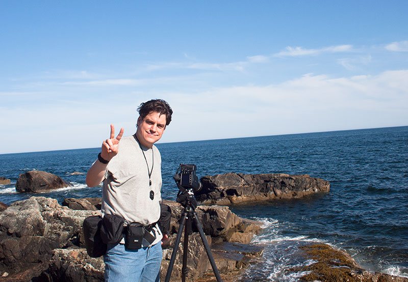 Me At Acadia National Park--behind The Scene by Shashin in Regular Member Gallery