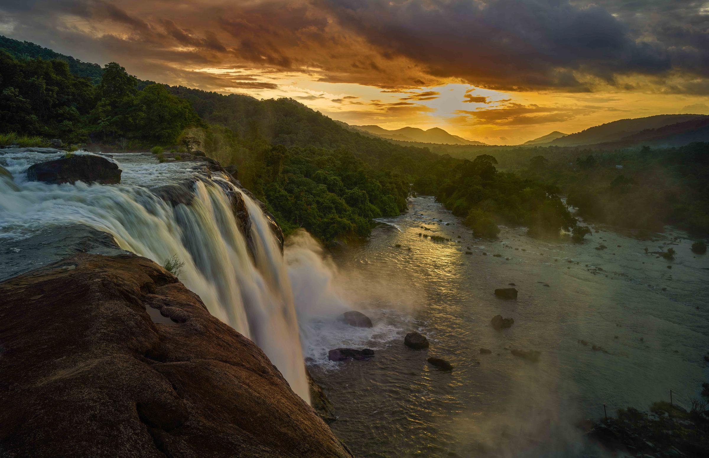 Athirappilly Waterfall Kerala by Shreyas in Regular Member Gallery
