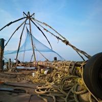 Chinese Fishing Net At Cochin India by Shreyas in Regular Member Gallery