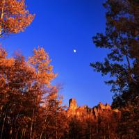 Owl Creek Pass Moonrise,  Co by hdrmd