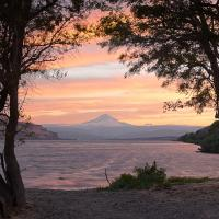 Columbia River Sunset At The Dalles by GrahamWelland