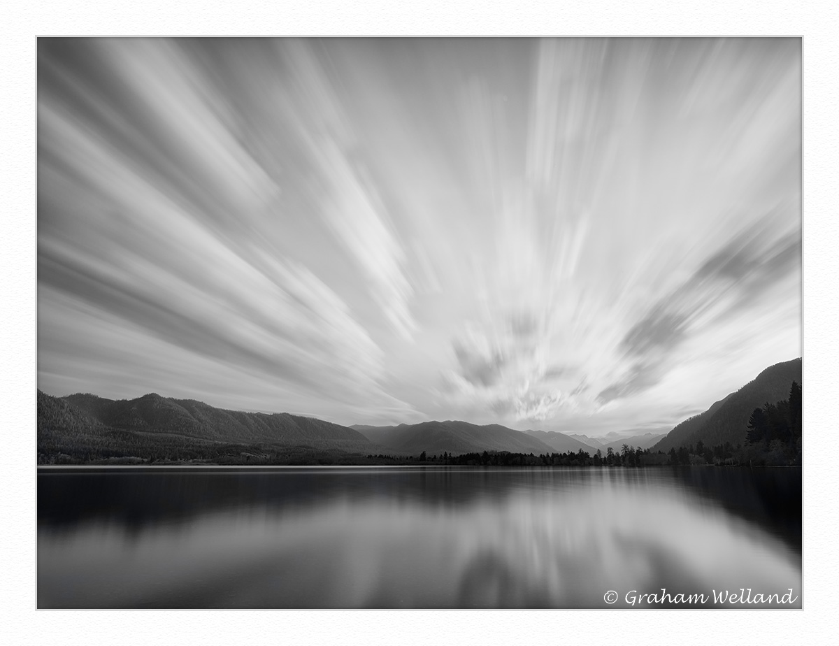 Lake Quinault Morning Cloud Burst by GrahamWelland in Regular Member Gallery