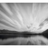 Lake Quinault Morning Cloud Burst by GrahamWelland