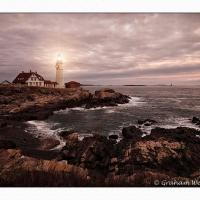 Portland Head Lighthouse, Cape Elizabeth Me by GrahamWelland