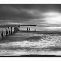 Pacifica-pier-evening-ir-ii-1200-framed