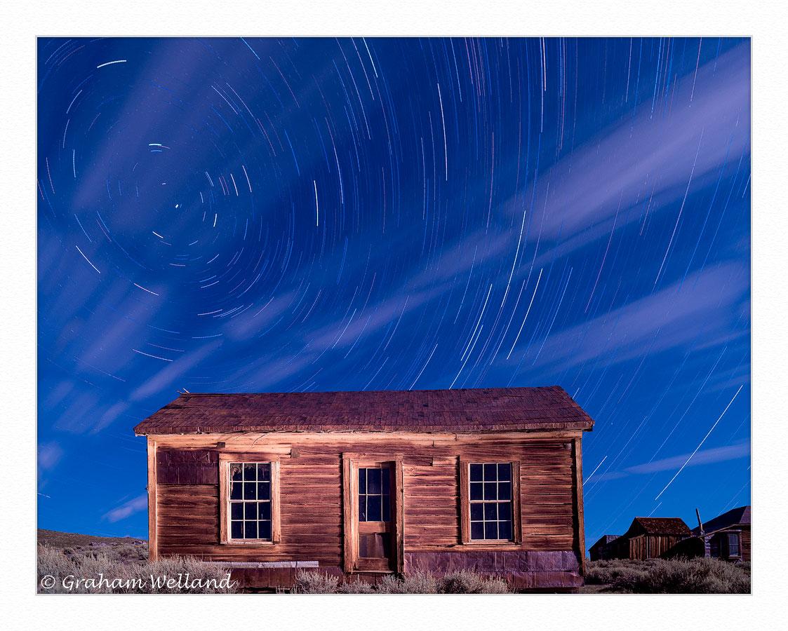 Bodie House Star Trails Full Spectrum Ir Visible by GrahamWelland in Regular Member Gallery