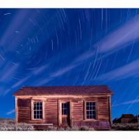 Bodie House Star Trails Full Spectrum Ir Visible