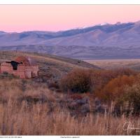 Charcoal Kiln Post Sunset by GrahamWelland