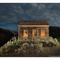 Bodie House Night Shot And Ghoul by GrahamWelland