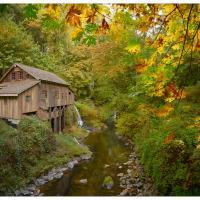 cedar-creek-grist-mill-pano-small by GrahamWelland in GrahamWelland