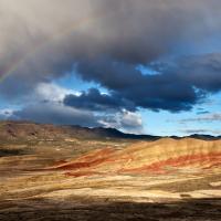 Painted Hill & Rainbow by GrahamWelland in Regular Member Gallery