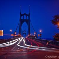 Portland Evening Light Trails by GrahamWelland in Regular Member Gallery