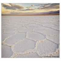 Death Valley Playa Morning by GrahamWelland