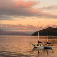 Gibson's Landing Sunset by GrahamWelland in GrahamWelland