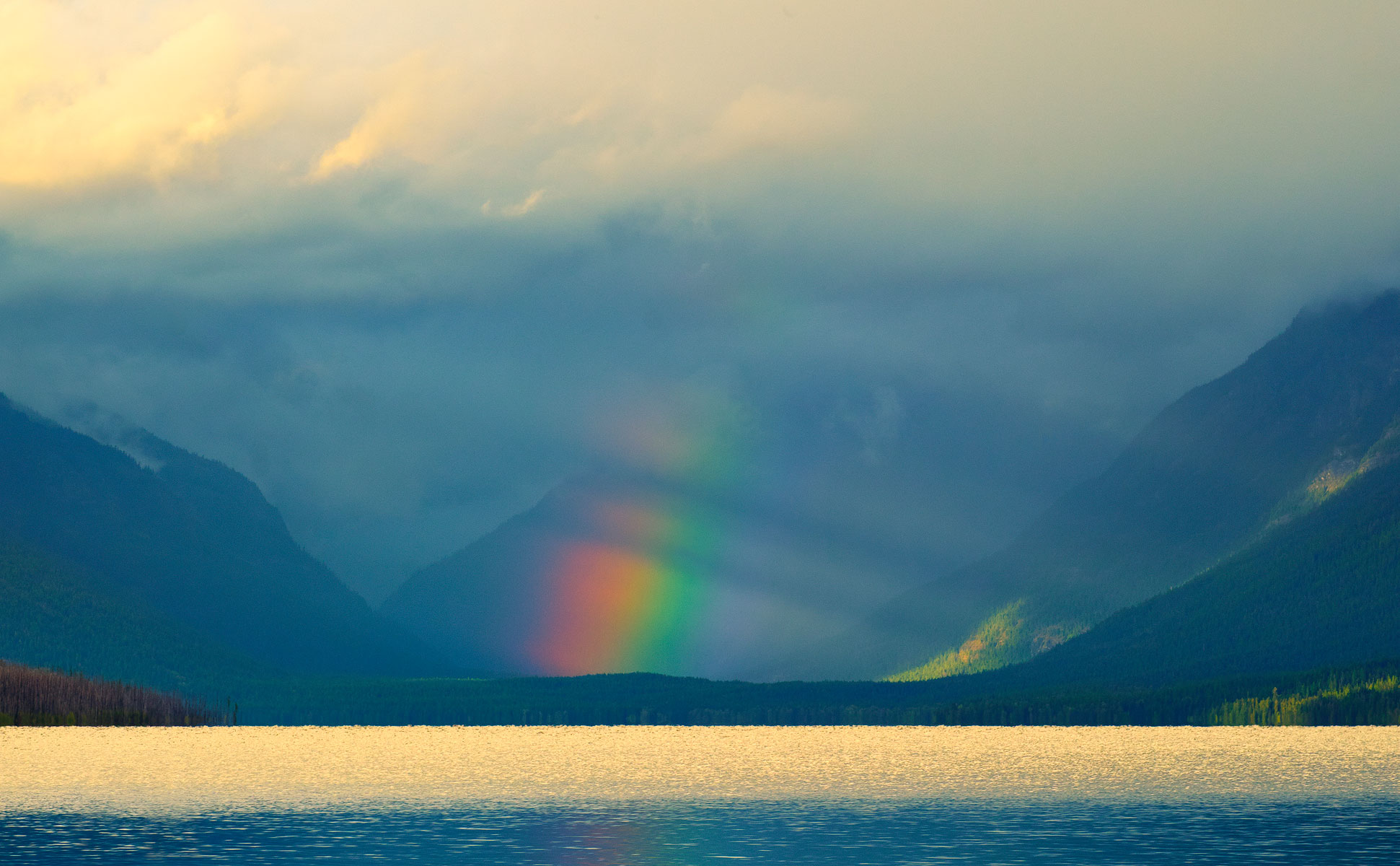 Glacier-rainbow-afternoon by GrahamWelland in Regular Member Gallery