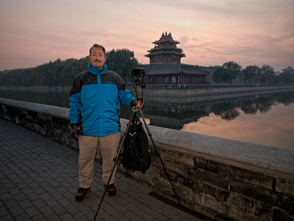Self Portait - Forbidden City, Beijing by GrahamWelland in Regular Member Gallery