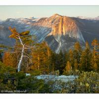 Half Dome From Sentinel Dome Sunset by GrahamWelland in Regular Member Gallery