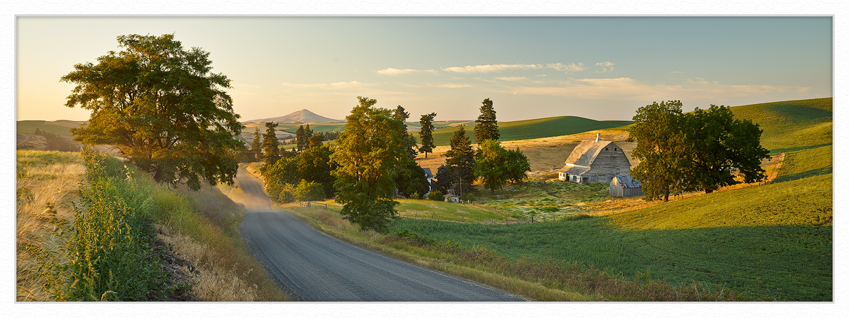 Hilty-road-sunset-with-beams by GrahamWelland in GrahamWelland