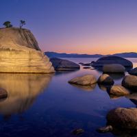 Tahoe Lights by GrahamWelland in GrahamWelland