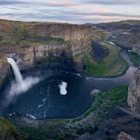 Palouse Falls by GrahamWelland