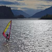 Windsurfing The Gorge by GrahamWelland in GrahamWelland