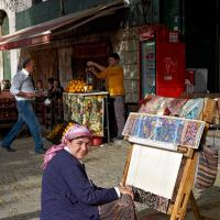 Istanbul Rug Maker by GrahamWelland