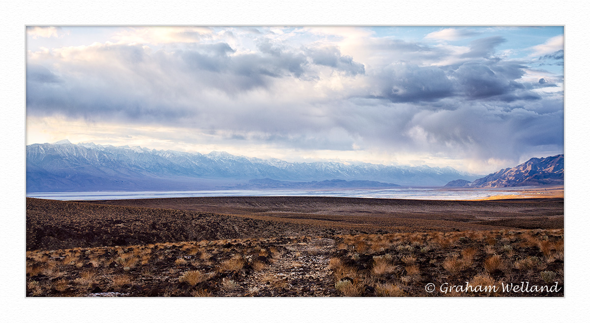 Owens Valley Evening - Colour
