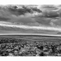 Owens Valley Storm & Road by GrahamWelland