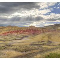 Painted Hills Sunburst (Big) by GrahamWelland