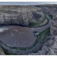 Palouse-falls-late-evening-1k-framed by GrahamWelland