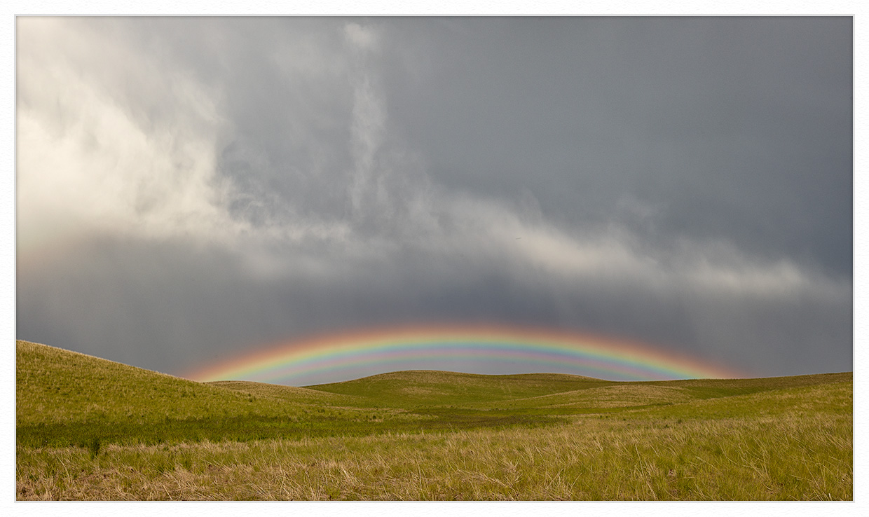 Lazy Rainbow On The Palouse by GrahamWelland in Regular Member Gallery