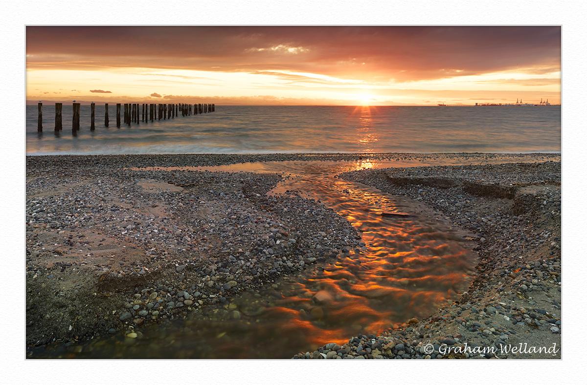 Point Roberts Sunset Over Tsawassen by GrahamWelland in Regular Member Gallery