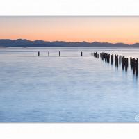 Pt Roberts Sunset & Pilings Pano by GrahamWelland in Regular Member Gallery