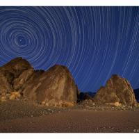 Dv Grandstand Star Trails by GrahamWelland