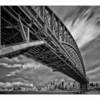Sydney Ir Evening by GrahamWelland
