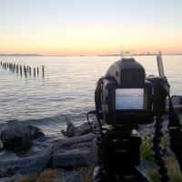 Tsawassen-terminal-sunset-df by GrahamWelland in GrahamWelland