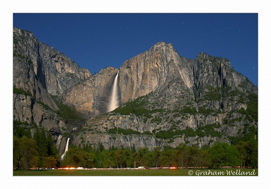 Yosemite Falls Under The Light Of The Super Moon. by GrahamWelland in Regular Member Gallery
