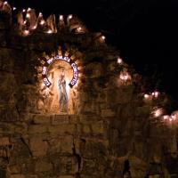 Grotto at the Univeristy of Incarnate Word by johnastovall in johnastovall