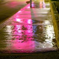 Neon Rain by johnastovall