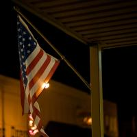 The Flag and the Light by johnastovall in johnastovall