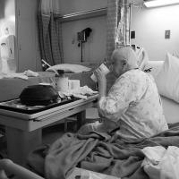 Hospital Lunch Cancer Ward by johnastovall
