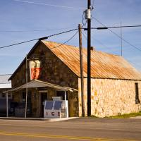 Downtown Lingleville, Texas by johnastovall