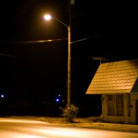 A small town's empty night  by johnastovall in johnastovall