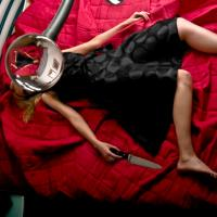 girl on a red blanket by irakly in Regular Member Gallery