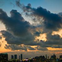Sunset Clouds Over Miami by etrigan63 in Regular Member Gallery