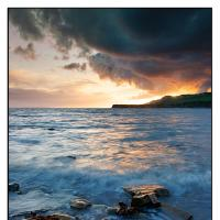 Kimmeridge-at-sunset by Quentin_Bargate