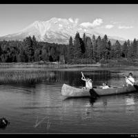 View Of Shasta by Mike Hatam in Mike Hatam